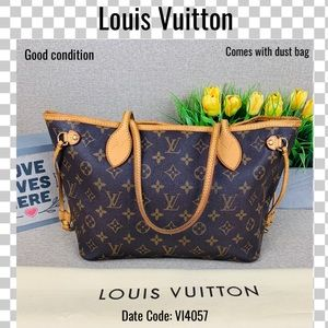 Louis Vuitton Shoulder bag neverfull pm tote bag